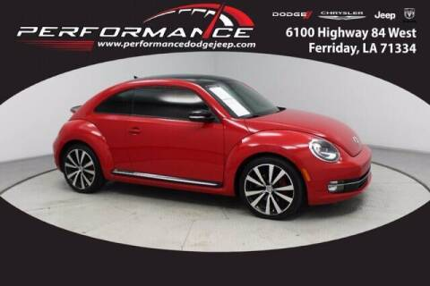 2013 Volkswagen Beetle for sale at Auto Group South - Performance Dodge Chrysler Jeep in Ferriday LA