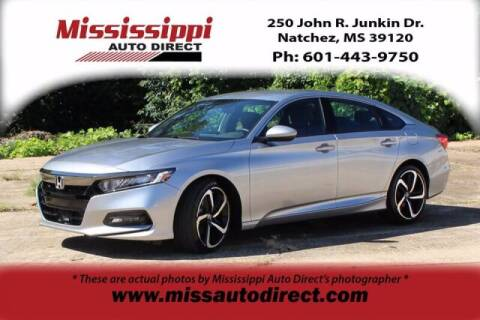 2018 Honda Accord for sale at Auto Group South - Mississippi Auto Direct in Natchez MS