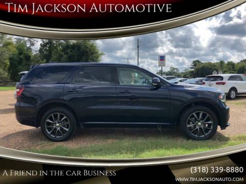 2018 Dodge Durango for sale at Auto Group South - Tim Jackson Automotive in Jonesville LA