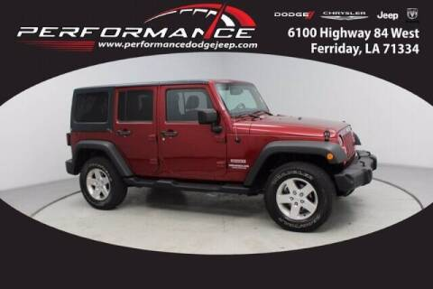 2013 Jeep Wrangler Unlimited for sale at Auto Group South - Performance Dodge Chrysler Jeep in Ferriday LA