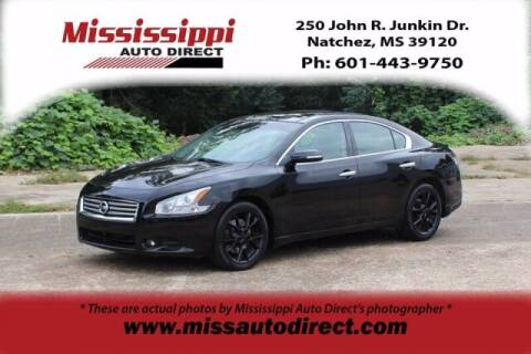 2014 Nissan Maxima for sale at Auto Group South - Mississippi Auto Direct in Natchez MS