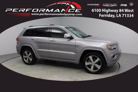 2016 Jeep Grand Cherokee for sale at Auto Group South - Performance Dodge Chrysler Jeep in Ferriday LA