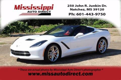 2019 Chevrolet Corvette for sale at Auto Group South - Mississippi Auto Direct in Natchez MS