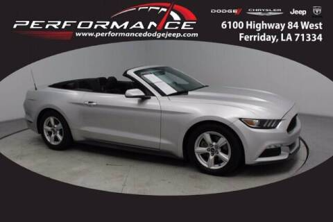 2015 Ford Mustang for sale at Auto Group South - Performance Dodge Chrysler Jeep in Ferriday LA