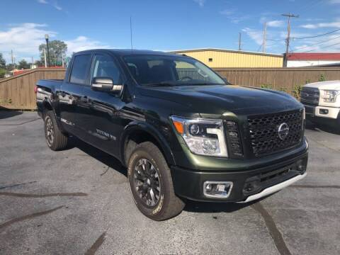 2019 Nissan Titan for sale at Auto Group South - Idom Auto Sales in Monroe LA