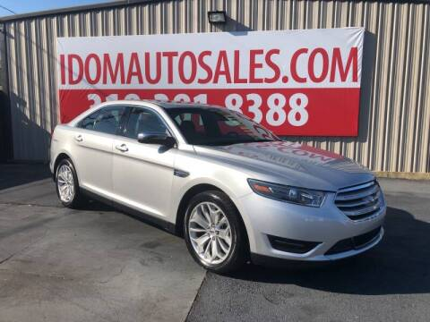 2019 Ford Taurus for sale at Auto Group South - Idom Auto Sales in Monroe LA