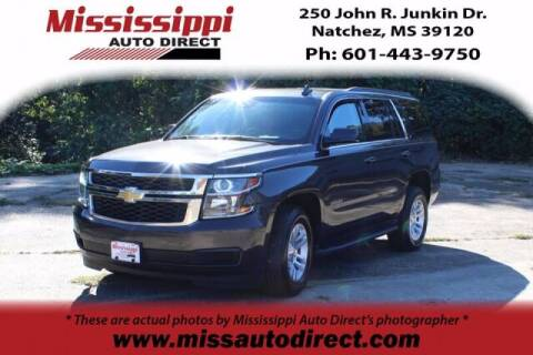 2018 Chevrolet Tahoe for sale at Auto Group South - Mississippi Auto Direct in Natchez MS