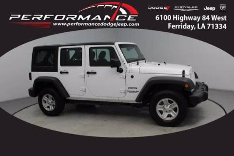 2017 Jeep Wrangler Unlimited for sale at Auto Group South - Performance Dodge Chrysler Jeep in Ferriday LA
