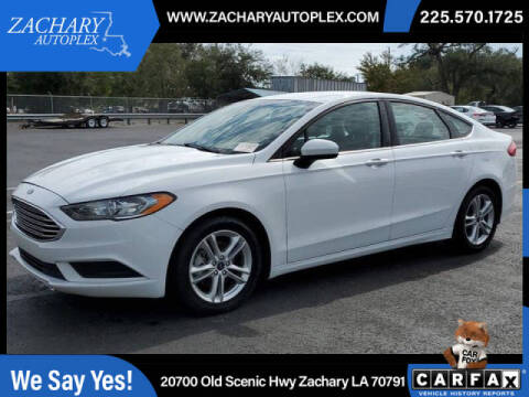 2018 Ford Fusion for sale at Auto Group South in Natchez MS