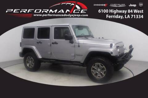 2015 Jeep Wrangler Unlimited for sale at Auto Group South - Performance Dodge Chrysler Jeep in Ferriday LA