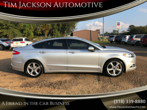 2016 Ford Fusion for sale at Auto Group South - Tim Jackson Automotive in Jonesville LA