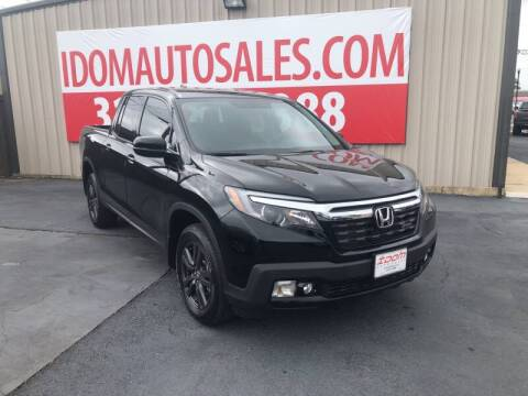 2019 Honda Ridgeline for sale at Auto Group South - Idom Auto Sales in Monroe LA
