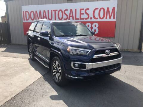 2018 Toyota 4Runner for sale at Auto Group South - Idom Auto Sales in Monroe LA