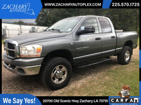 2006 Dodge Ram Pickup 2500 for sale at Auto Group South in Natchez MS