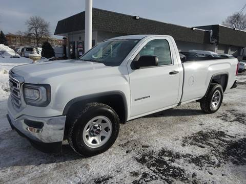 2018 GMC Sierra 1500 for sale at BELLMOBILE SALES & LEASING in Hopkins MN
