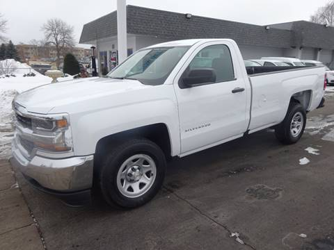 2018 Chevrolet Silverado 1500 LS for sale at BELLMOBILE SALES & LEASING in Hopkins MN