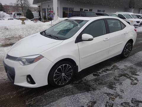 2014 Toyota Corolla S Premium for sale at BELLMOBILE SALES & LEASING in Hopkins MN