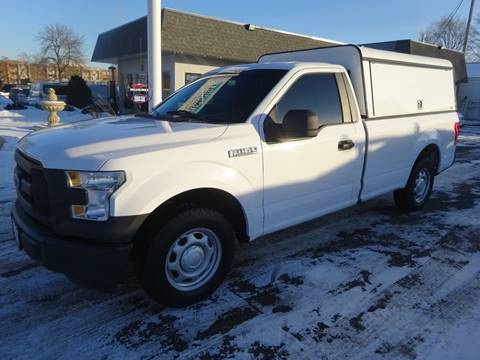 2016 Ford F-150 XLT for sale at BELLMOBILE SALES & LEASING in Hopkins MN