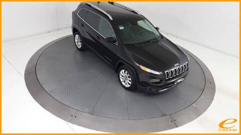 2017 Jeep Cherokee Limited for sale at E-CARONE in Carrollton TX