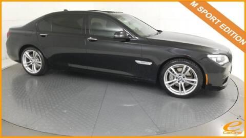 2015 BMW 7 Series 740Li for sale at E-CARONE in Carrollton TX