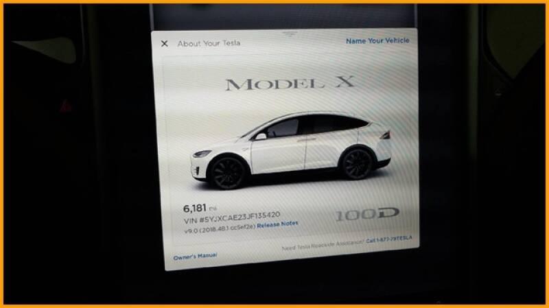2018 Tesla Model X 100D (image 68)