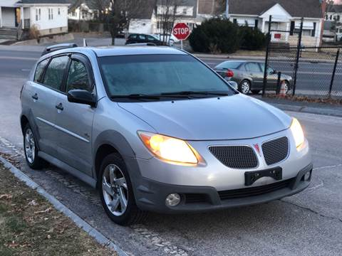 2005 Pontiac Vibe for sale at Emory Street Auto Sales and Service in Attleboro MA