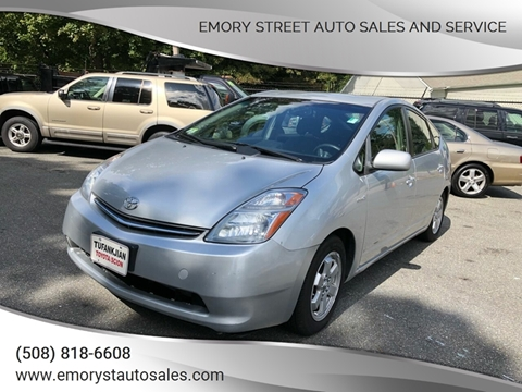 2007 Toyota Prius for sale at Emory Street Auto Sales and Service in Attleboro MA