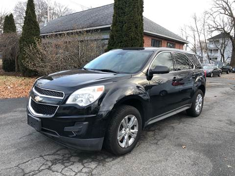 2012 Chevrolet Equinox for sale at Emory Street Auto Sales and Service in Attleboro MA