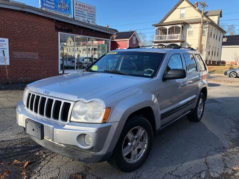 2006 Jeep Grand Cherokee for sale at Emory Street Auto Sales and Service in Attleboro MA