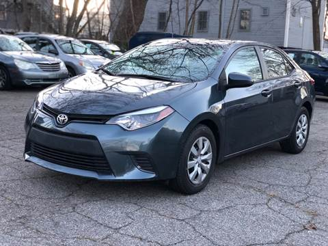 2016 Toyota Corolla for sale at Emory Street Auto Sales and Service in Attleboro MA