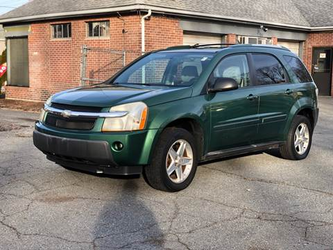 2005 Chevrolet Equinox for sale at Emory Street Auto Sales and Service in Attleboro MA