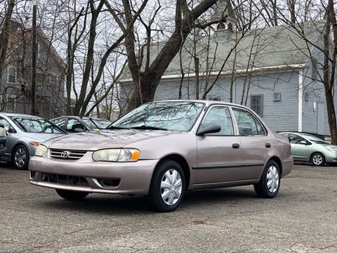 2001 Toyota Corolla for sale at Emory Street Auto Sales and Service in Attleboro MA