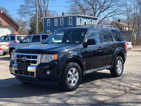 2011 Ford Escape for sale at Emory Street Auto Sales and Service in Attleboro MA