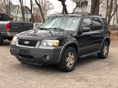 2005 Ford Escape for sale at Emory Street Auto Sales and Service in Attleboro MA