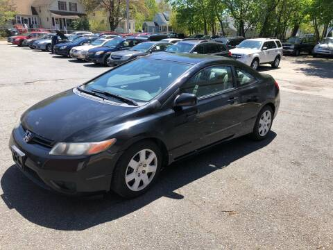 2008 Honda Civic LX for sale at Emory Street Auto Sales and Service in Attleboro MA