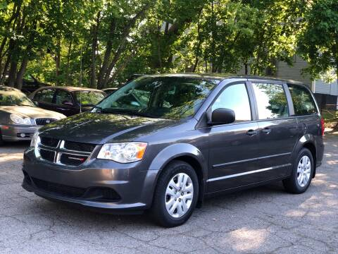 2015 Dodge Grand Caravan SE for sale at Emory Street Auto Sales and Service in Attleboro MA
