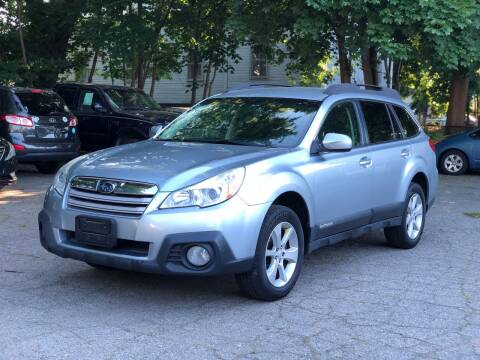 2013 Subaru Outback for sale at Emory Street Auto Sales and Service in Attleboro MA