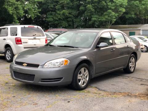 2006 Chevrolet Impala for sale at Emory Street Auto Sales and Service in Attleboro MA