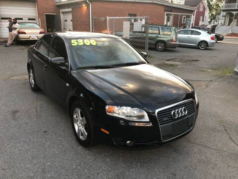 2006 Audi A4 for sale at Emory Street Auto Sales and Service in Attleboro MA