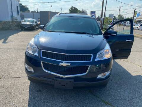 2012 Chevrolet Traverse for sale at Emory Street Auto Sales and Service in Attleboro MA