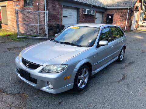 2003 Mazda Protege5 for sale at Emory Street Auto Sales and Service in Attleboro MA