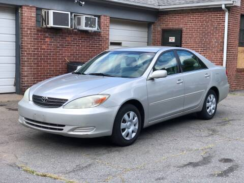 2004 Toyota Camry for sale at Emory Street Auto Sales and Service in Attleboro MA