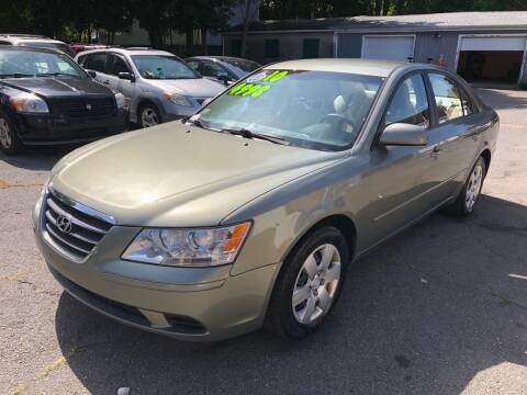 2010 Hyundai Sonata for sale at Emory Street Auto Sales and Service in Attleboro MA