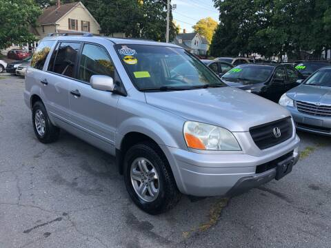 2005 Honda Pilot for sale at Emory Street Auto Sales and Service in Attleboro MA