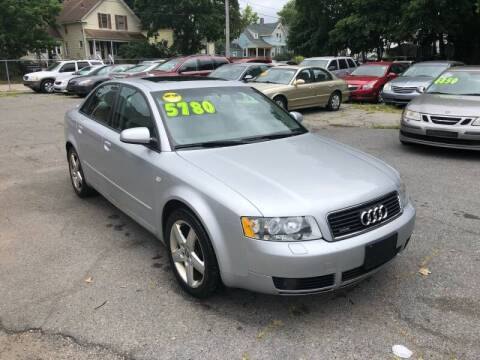 2005 Audi A4 for sale at Emory Street Auto Sales and Service in Attleboro MA