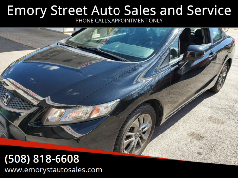2013 Honda Civic for sale at Emory Street Auto Sales and Service in Attleboro MA