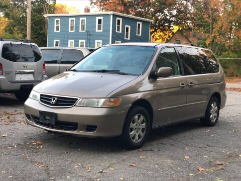 2004 Honda Odyssey for sale at Emory Street Auto Sales and Service in Attleboro MA