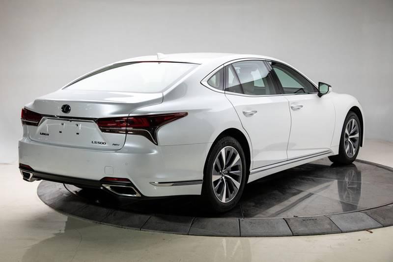 2018 Lexus LS 500 4