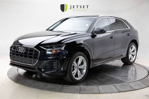 2019 Audi Q8 3.0T quattro Premium Plus for sale at Jetset Automotive in Cedar Rapids IA