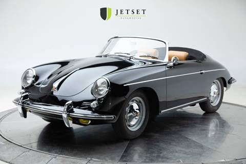 1962 Porsche 356 Speedster for sale at Jetset Automotive in Cedar Rapids IA